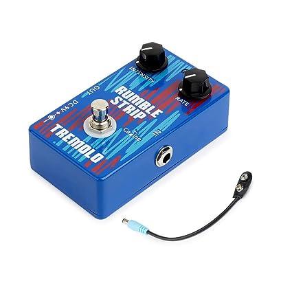 Festnight Guitarra Trémolo Efecto Pedale con Cable de Batería, Accesorio para Guitarra Eléctrica