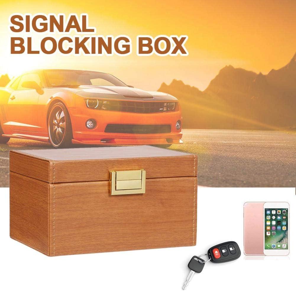 kioski Pochette de bloqueur de Signal RFID de bo/îte de Faraday de bo/îte de Faraday de Signal de cl/é de Voiture sans cl/é Blocage s/ûr de s/écurit/é pour des Cartes fut/ées de cl/és