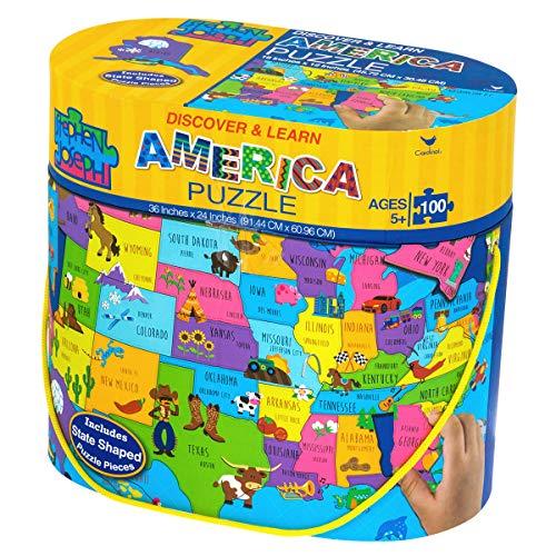 (Stephen Joseph Floor Puzzle, USA)