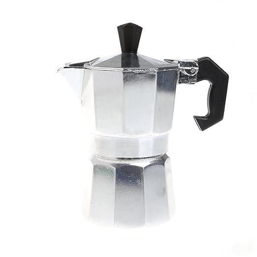 Meatyhjk - Cafetera de café (aluminio, 1/3/6/9/12 tazas), color ...