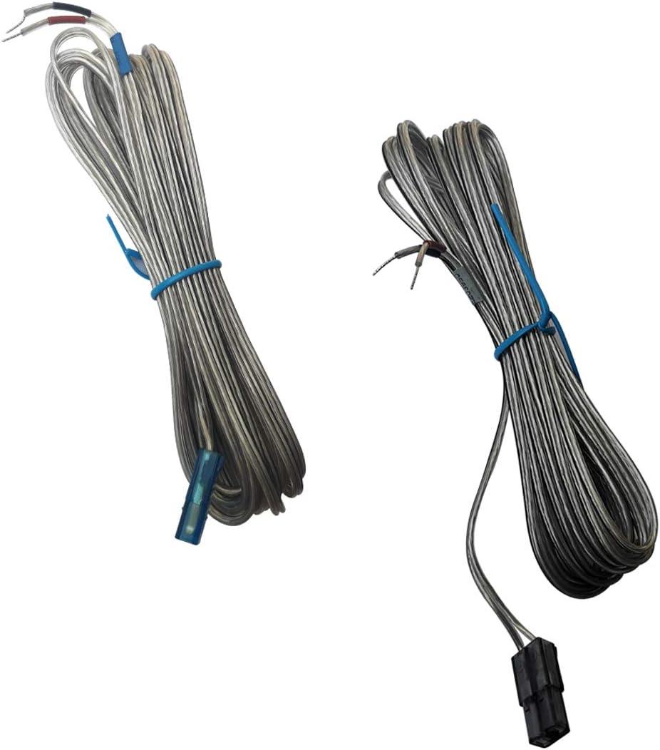 Seayoo - 2 cables de altavoz para Samsung HT-H4500 HT-J4500 HT-J4500 HT-H4500K HT-J5530K HT-J5500 HT-J5500K HT-J5500K HT-J5550K HT-J5500W HT-J5550W HT-J5550WK Sistema de cine en casa