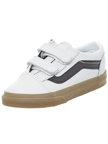 d8d498996108 Vans Bleacher-Gray-Black Gum Old Skool V Toddlers Shoe (5 Toddlers ...