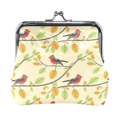 Amazon.com: Dragon Sword Red Cardinals Twigs Monedero de ...