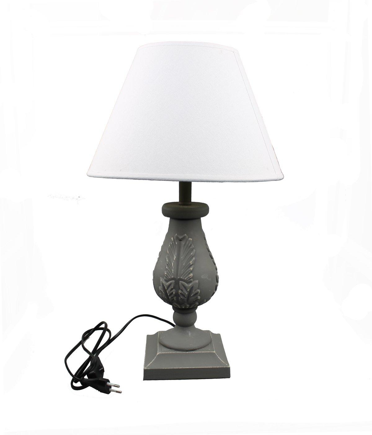 Détails Lampe Sur 8 Antique 19 Bureau Maison Chevet Baroque De Campagne 50 Bois Cm lF1JKc