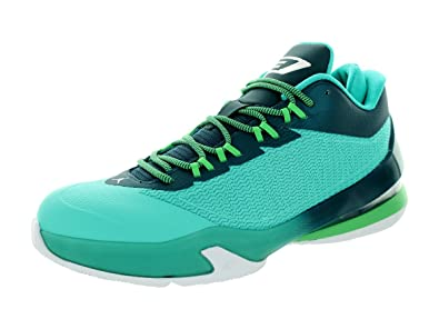 new style 4cf1f 3cb94 Jordan Nike Men s Cp3.VIII Retro White Teal Black Basketball Shoe