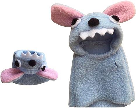 Khemn - Disfraz de Monstruo de Moda para Rata, hámster, Ardilla ...