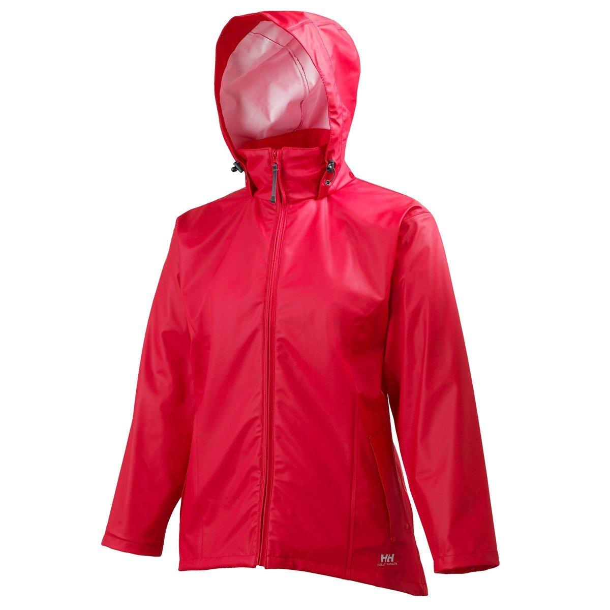 Helly Hansen Women's Voss Windproof Waterproof Rain Jacket, 130 Buzzaw, Large