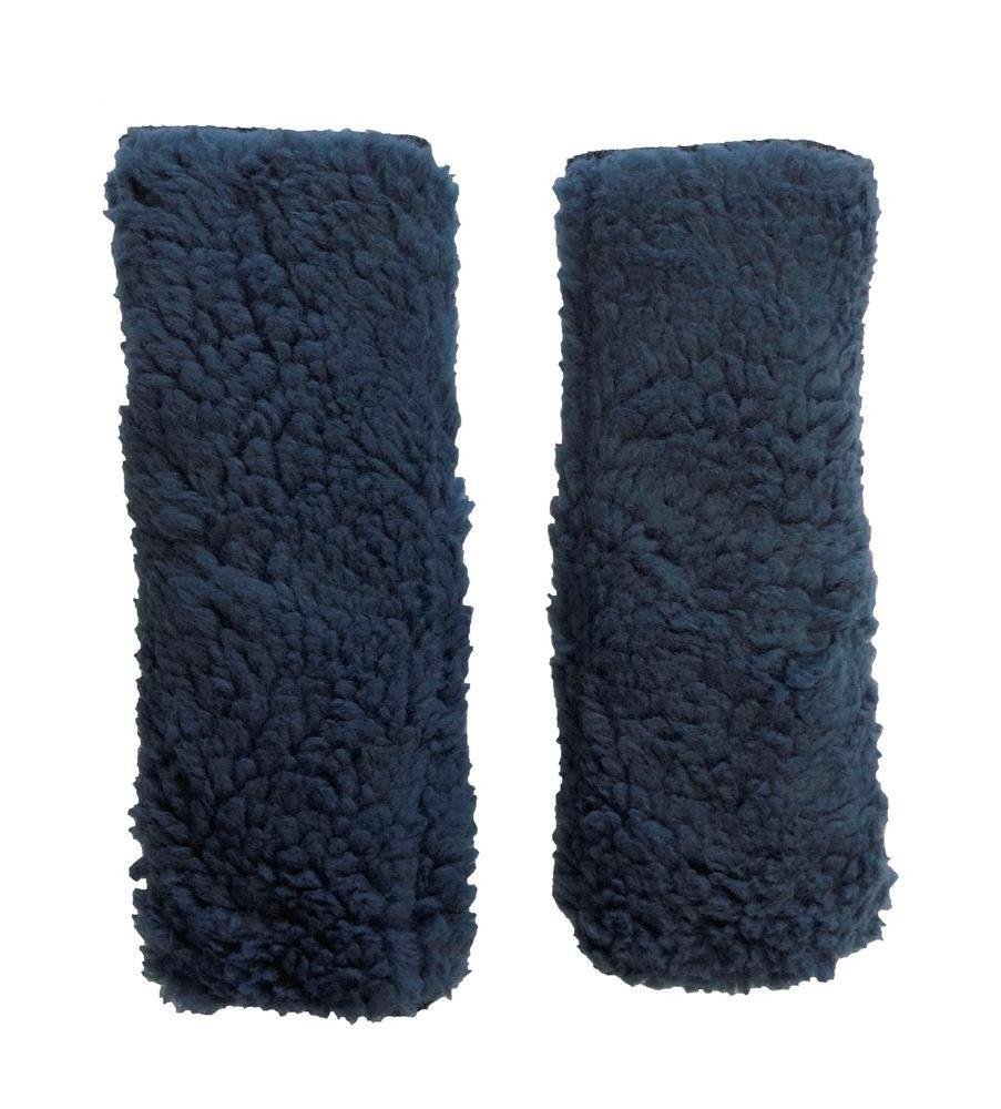 Allman Premium Fleece Wheelchair Arm Cushions 14'' (pair) (Denim Blue)