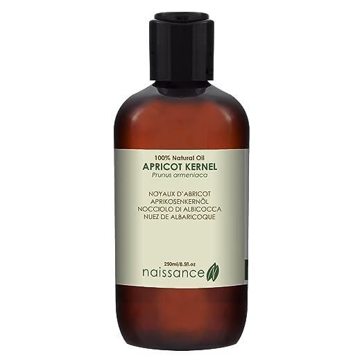 4 opinioni per Naissance Olio di Nocciolo di Albicocca- Olio Vegetale Puro al 100%- 250ml
