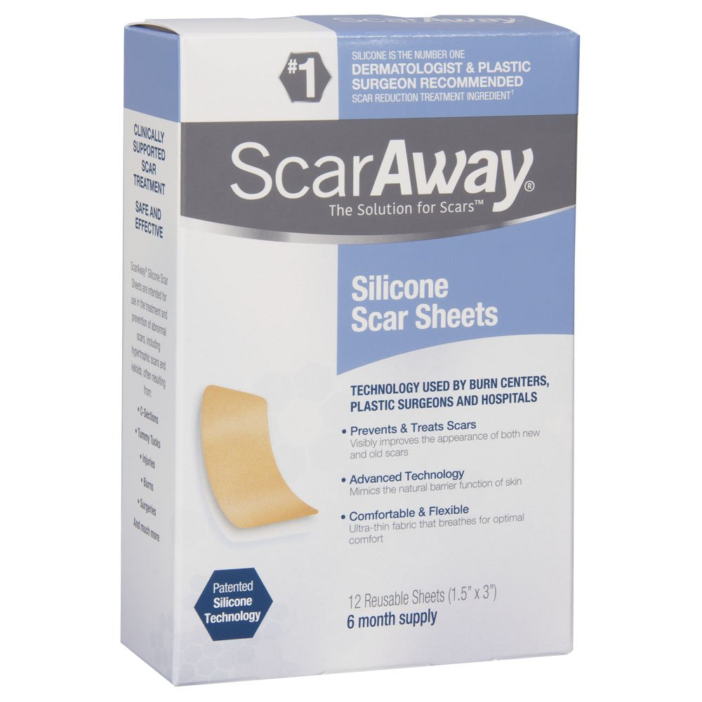 Amazon Com Scaraway Professional Grade Silicone Scar Treatment