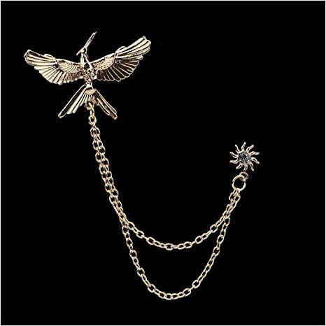 Tie Clip with Chain vintage Tie Chain Necktie Accessory Formal Occasion Wedding Jewelry