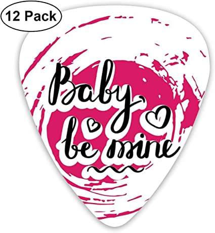 Celluloid Guitar Picks - 12 Pack,Abstract Art Colorful Designs ...