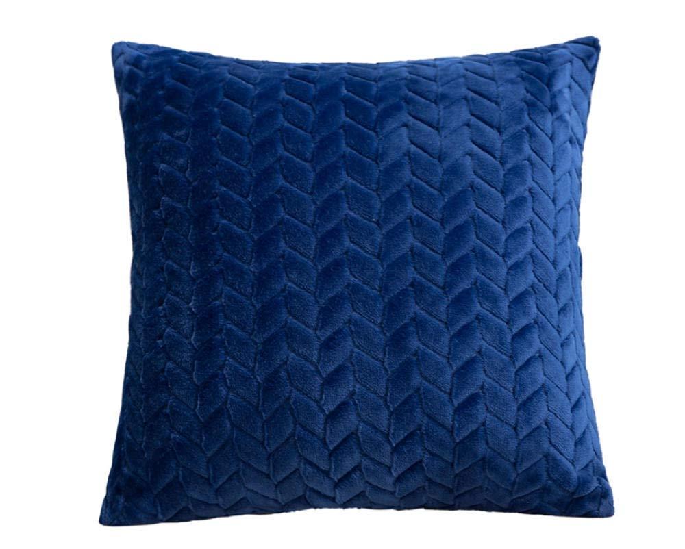 Amazon.com: QWE Sofa Pillow Nordic Style Plush Decorative ...