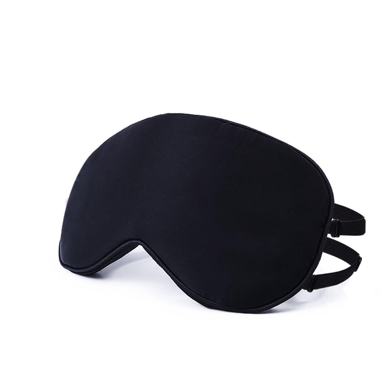 Seda Natural máscara, obosoe liso ojo máscara para dormir ...