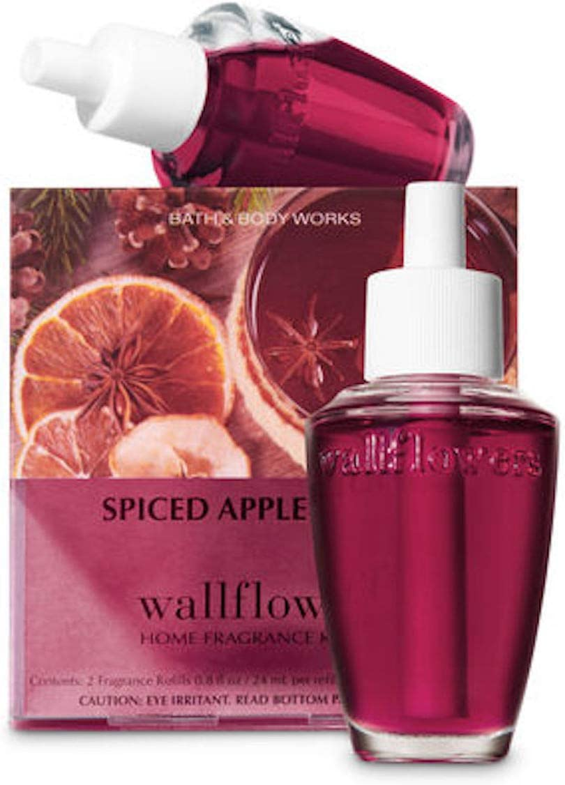Bath and Body Works New Look! Spiced Apple Toddy Wallflowers 2-Pack Refills
