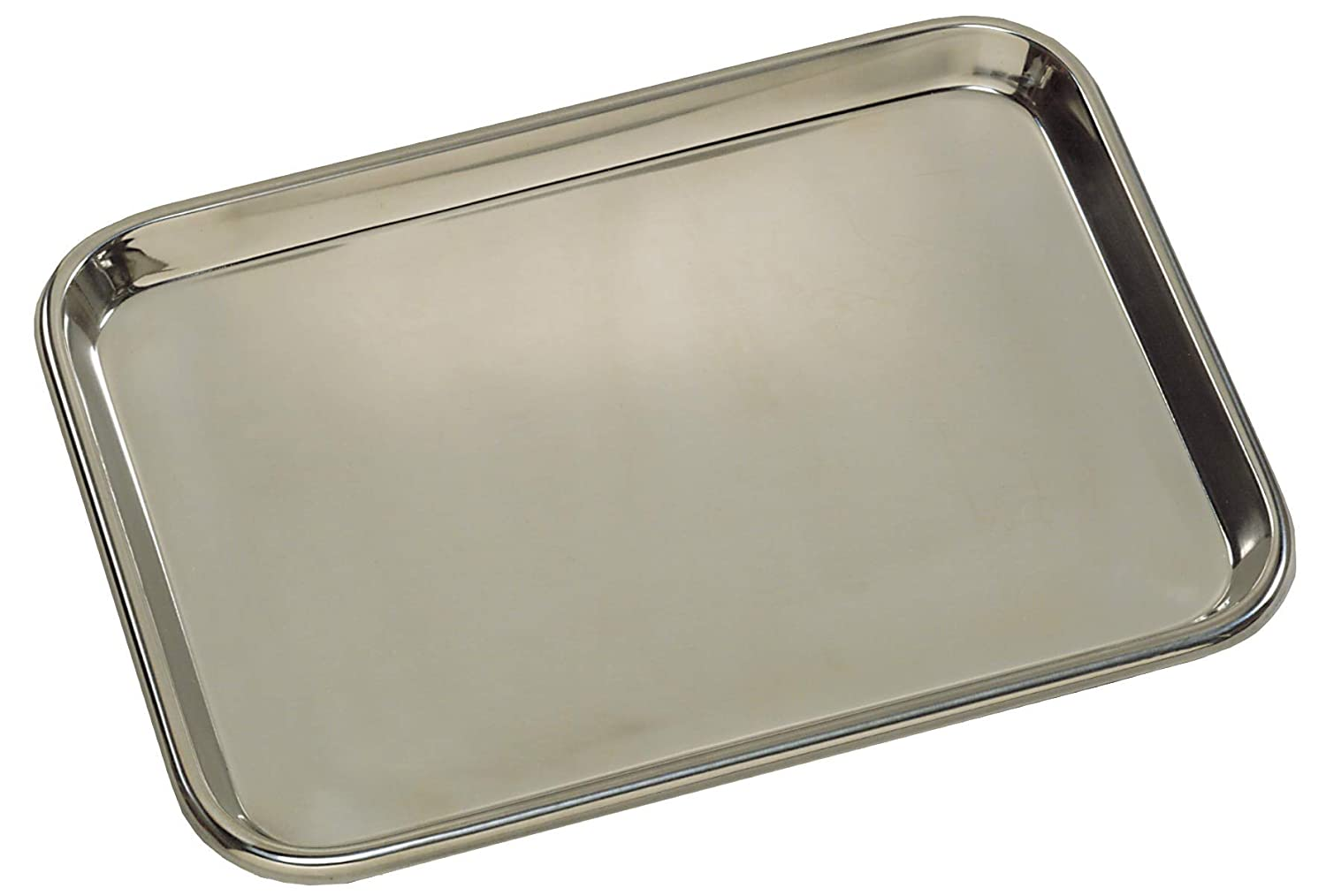Grafco Metal Mayo Tray for Medical Instruments, Dental, Tattoo and Surgical Supplies, Stainless Steel, 13-5/8