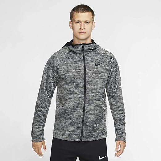 Nike Spotlight Hoodie Full Zip Veste, Black HeatherBlack