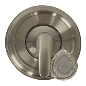 Danco 10002 UNIVERSAL MOEN TRIM KIT Brushed Nickel