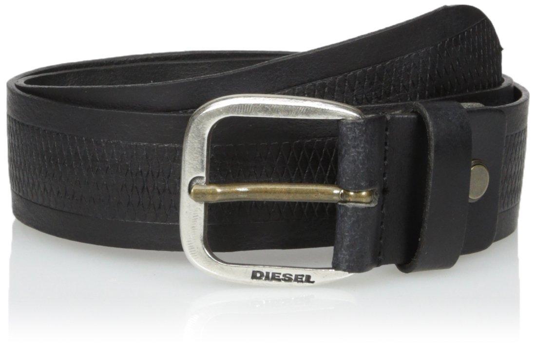 (ディーゼル) DIESEL メンズ ベルト - B-WILDD - belt X05154P0759 B0752796Y4 105|ブラック ブラック 105