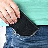 XeYOU Leather Case Minimalist Money Money Organizer