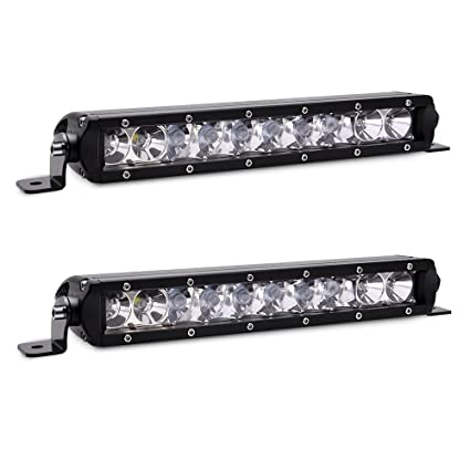 Mini Led Light Bar >> Amazon Com Mictuning Mic 5dp50 2x Sr Mini Series 11 50w Single Row