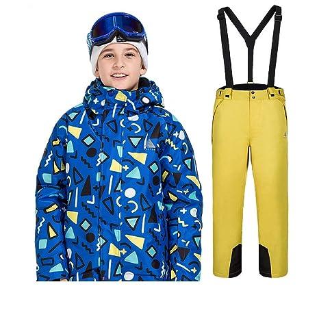 Juego de Ropa de esquí para niños Invierno, niños y niñas ...