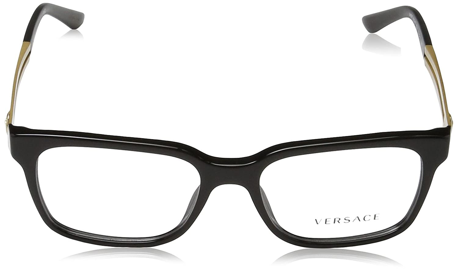 1005373444d Amazon.com  Versace VE 3218 Eyeglasses GB1 Black  Clothing
