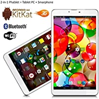 Indigi® 7 Android 4.4 Tablet 3G Smart Phone WiFi Bluetooth Google Play Store US Seller