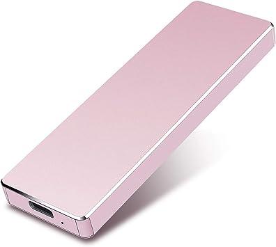 PC,MacBook Xbox 1tb, Rojo Chromebook Disco Duro Externo 1tb USB 3.1 para Mac