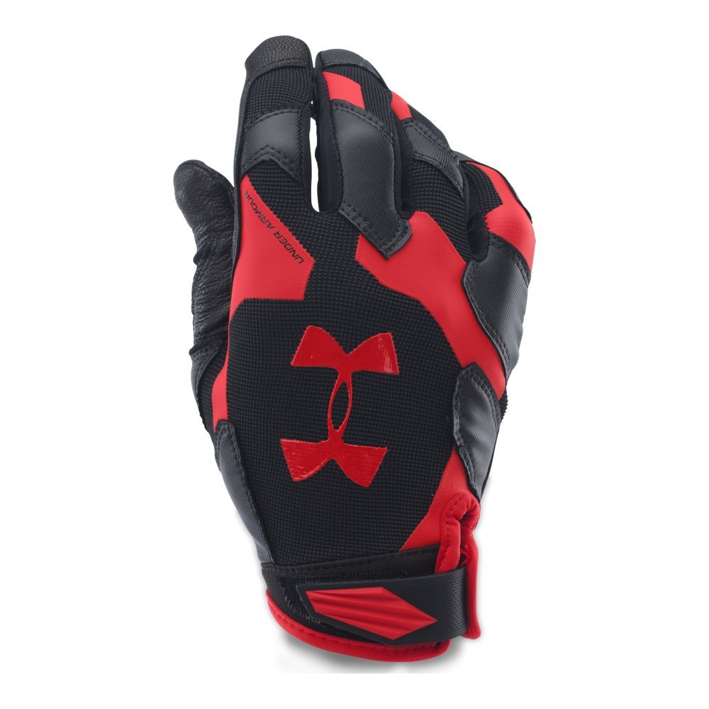 Under Armour Men's Renegade Training Gloves, Black /Red, Small/Medium
