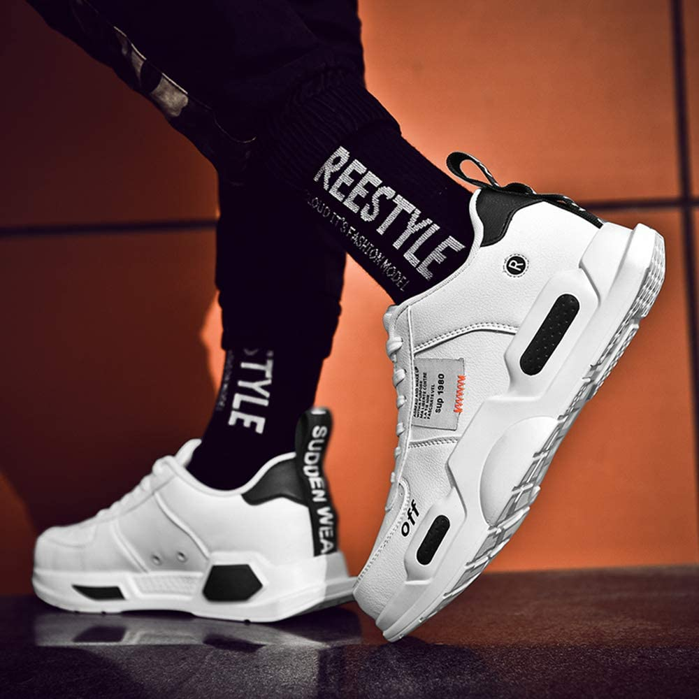 XIDISO Herren Mode Turnschuhe Herren Damen Leichte Wanderschuhe Laufen Atmungsaktiv l/ässige Sneakers Unisex