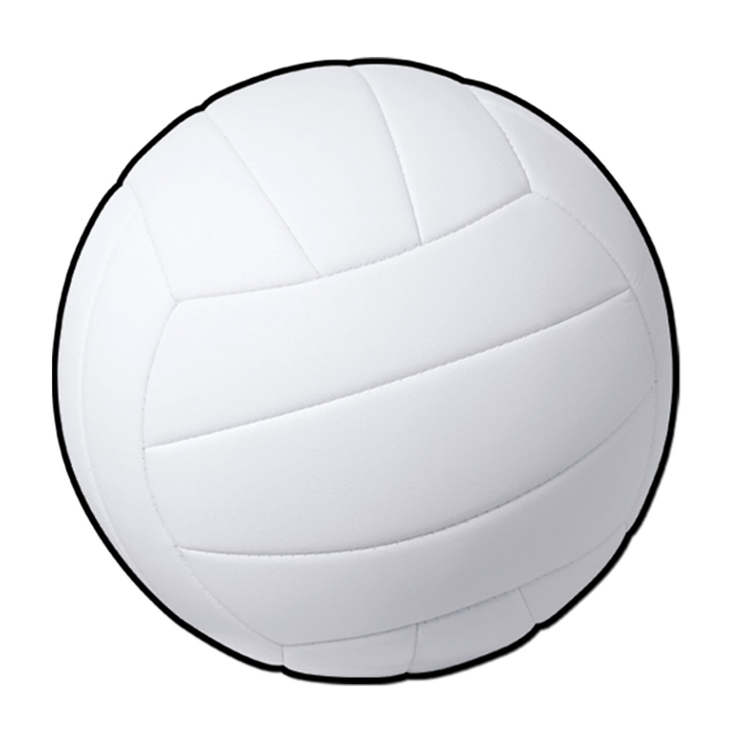 Beistle 24-Pack Volleyball Cutout, 13-1/2-Inch