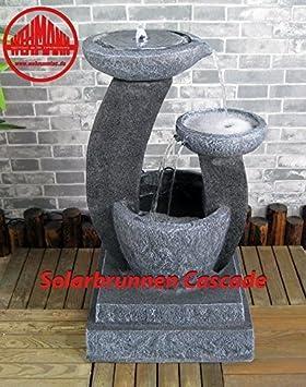 Fontaine solaire pour fontaine solaire cascade Fontaine de jardin ...