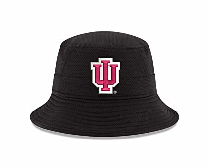 96cfb008e3f06 Amazon.com   New Era Indiana Hoosiers NCAA College Pride Bucket Hat ...