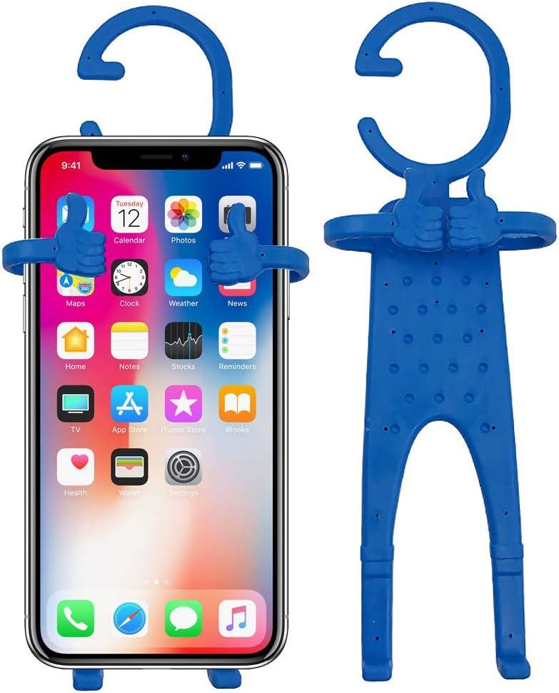 2 Packs Purple UnderReef Flexible Cell Phone Holder Hands-Free Universal Car Mount,GPS Navigation Battery Charging Desktop Stand