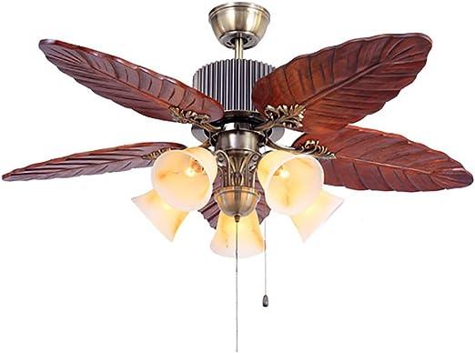 Global lighting Ventilador de Ventilador de Techo Retro de 48 ...