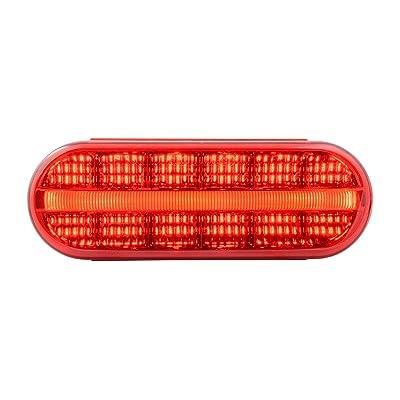GG Grand General 74852 Sealed Light (Oval Prime Spyder Red 14 LED): Automotive