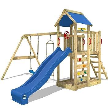 Wickey Spielturm Multiflyer Kletterturm Spielplatz Garten Mit