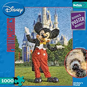 Buffalo Games Disney Photomosaic: Mickey's World