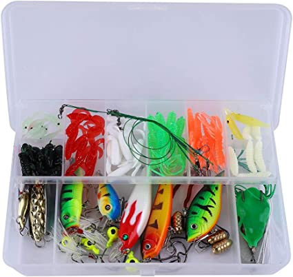 Rubber Silicone Jigging Soft Squid Lures Fishing Bait Luminous Soft Artificial