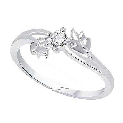 3c31efc598e Buy Lady Touch Designer Silver Light Weight Diamond Adjustable ...