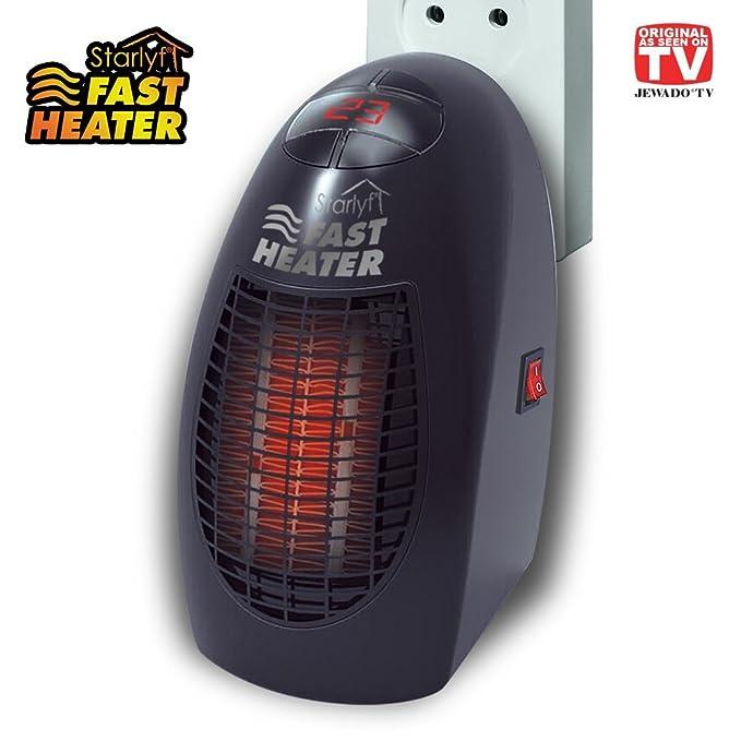 Starlyf® Fast Heater - Mini portátil y potente y de calefacción con tecnología de cerámica térmicos de para el enchufe - Producto original de TV de ...