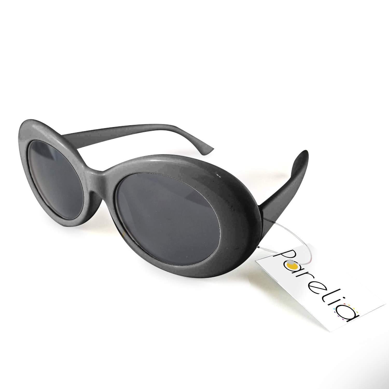Amazon.com: Gafas de Clout Marco ovalado grueso. Hypebeast ...