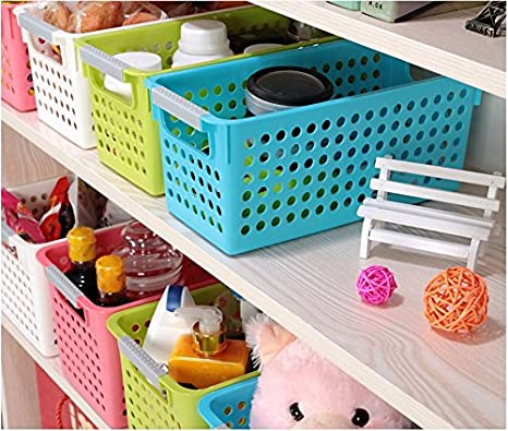 Fabulous Amazon Com Magshion Bath Kitchen Plastic Storage Shelf Interior Design Ideas Lukepblogthenellocom