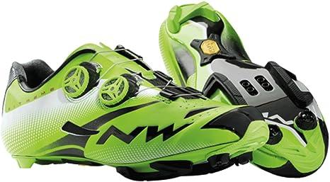 Northwave - Zapatillas de ciclismo para hombre Verde(ing) Verde ...