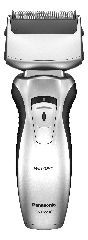 Panasonic ES-RW30 - Afeitadora en seco o húmedo, funciona con batería ES-RW30-S503