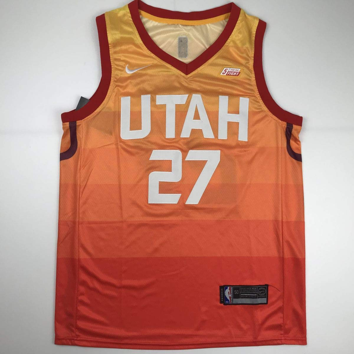 152952e2a Autographed Signed Rudy Gobert Utah Orange Basketball Jersey JSA COA at  Amazon s Sports Collectibles Store