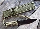 HANCARA - Utility Combat Tactical Knife for Camping...