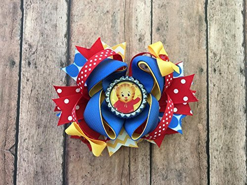 Daniel Tiger Inspired Bow by Inspired Bows