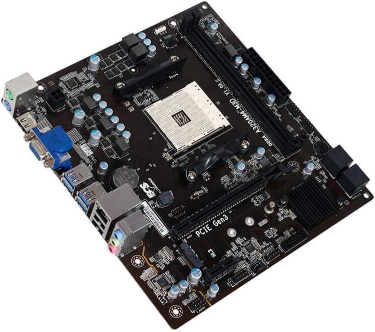 ECS Elitegroup A320AM4-M3D AMD A320 AM4 Ryzen 7th Gen Athlon Processor Chipset DDR4 mATX Micro ATX Motherboard